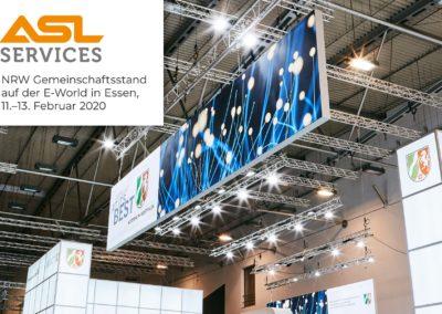 ASL Services GmbH auf der E-world 2020