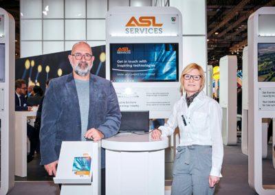 Andreas Berndt und Patricia Kahlau, ASL Services GmbH