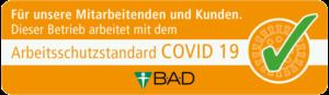 Siegel Arbeitsschutzstandard Covid 19